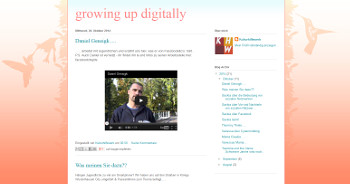 growing up digitally